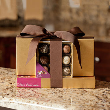 "6 Unit Multi-Pack of Candy House ""Elegant"" Tower of Gourmet Chocolates"