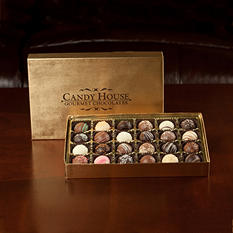 Candy House Chocolate Truffle Assortment - 24 pcs.