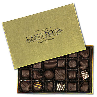 Candy House Dark Chocolate Deluxe Assortment - 13 ozs.