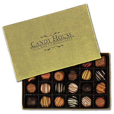 Candy House Chocolate Cream Assortment - 24 pcs.