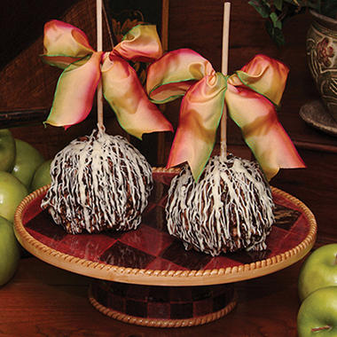 Candy House Deluxe Caramel Apples  - Set of 2