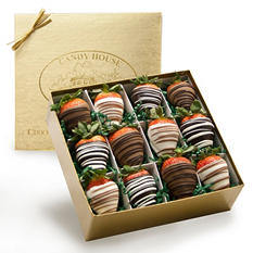 Candy House 2 Dozen Chocolate Dipped Strawberries
