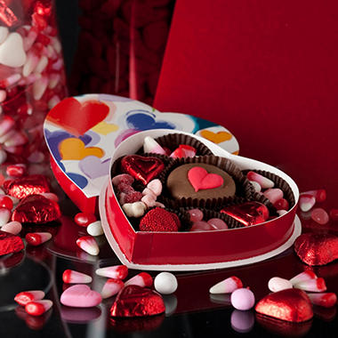 Candy House Valentine Young at Heart Assortment 4 oz set of 3