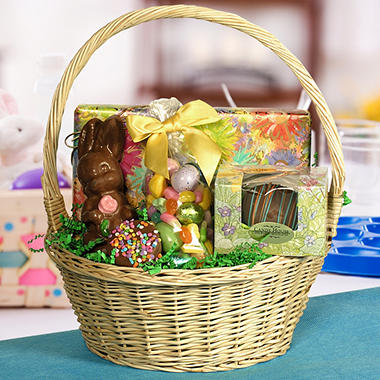 Candy House Gourmet Chocolates Easter Basket