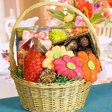 Candy House Mother's Day Chocolate Basket
