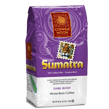 Copper Moon� World Coffees Sumatra - 2.5lb