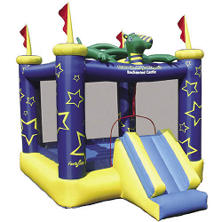 Draco The Magic Dragon Jumping Castle