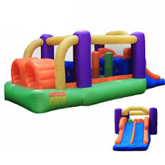 Obstacle Speed Racer Bounce House