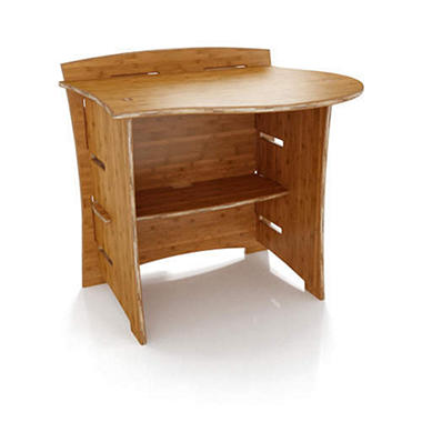 "31"" Desk Peninsula - Bamboo"