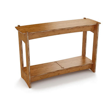 Sofa Table - Amber Bamboo