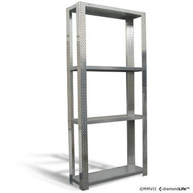 DiamondRack Customizable Shelving