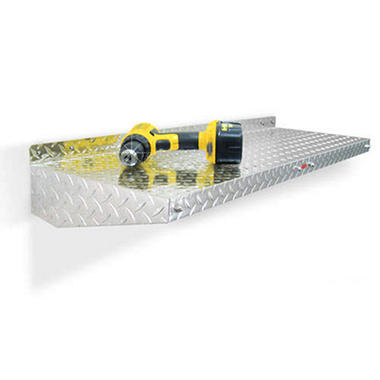 "WallShelf? - Diamond Plate - 40"" x 13"""