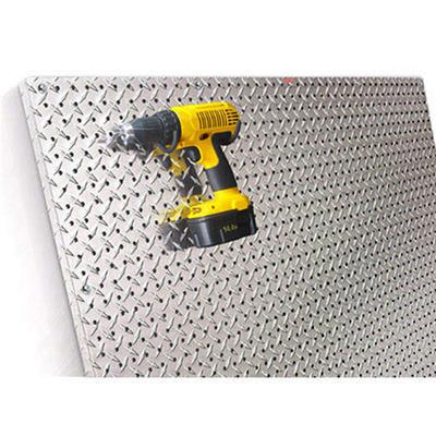 PegBoard X2™ - 4x4 Panel - Diamond Plate