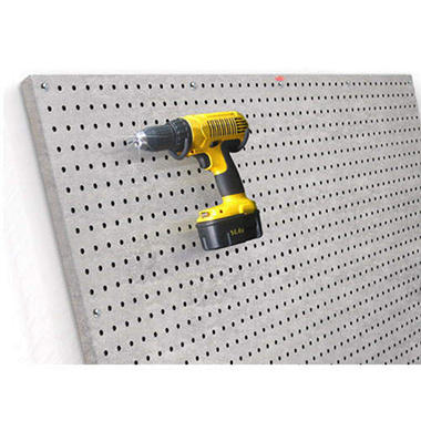 PegBoard X2? - 2x4 Panel - Galvanized Steel