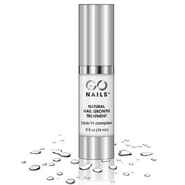 GoNails Natural Nail Growth Treatment -  0.5 oz.