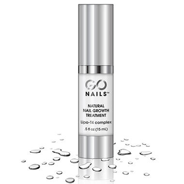 GoNails Natural Nail Growth Treatment -  0.5 oz.
