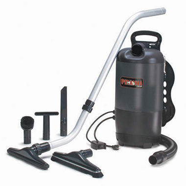 Powr-Flite Backpack Vacuum with Tool Kit