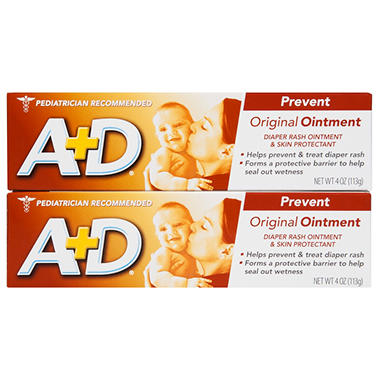 A+D Baby Ointment - 4 oz. - 2 pk.
