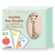 Sophie La Girafe Teether and ABC Testcards