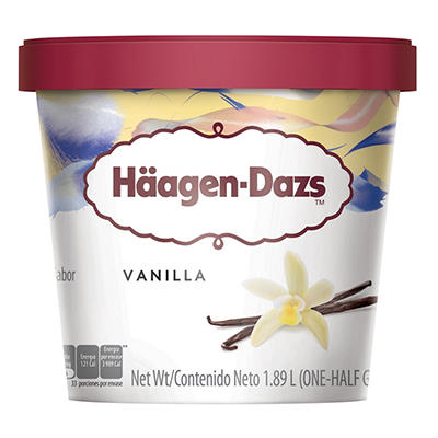 Haagen-Dazs Vanilla Ice Cream - 64 fl. oz.