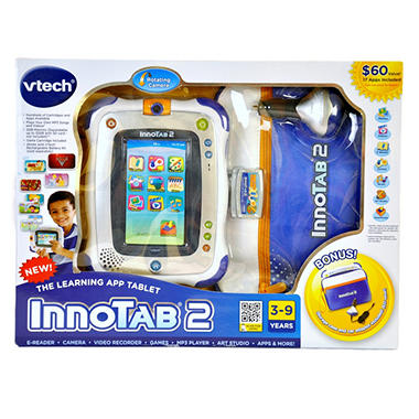 VTech InnoTab 2 Learning App Tablet Bundle