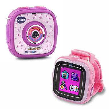 Vtech Kidizoom Action Cam/Smart Watch Bundle - In Choice of Colors