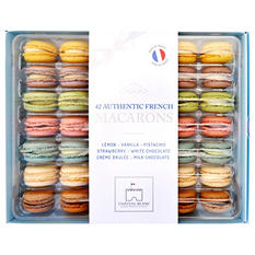 Chateau Blanc Authentic French Macarons (42 ct., 6 pk.)