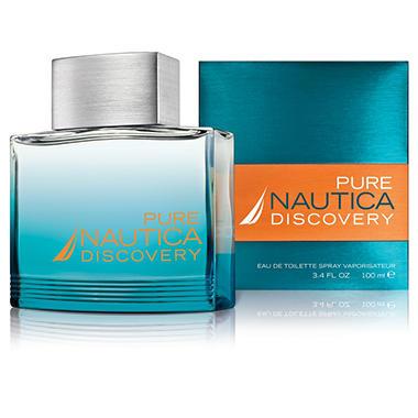 Pure Nautica Discovery For Men - 3.4 oz.