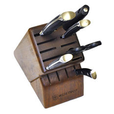 Wüsthof Classic Ikon 7-Piece Walnut Block Knife Set