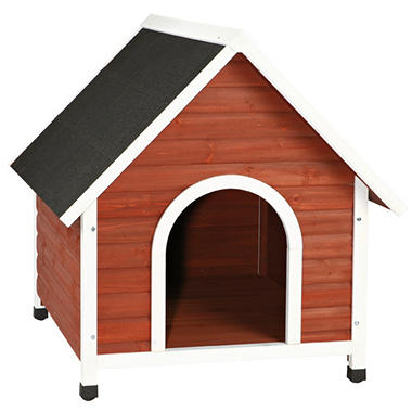 Nantucket Dog House, Brown (Choose Your Size)