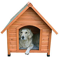 Trixie Log Cabin Dog House (Choose Your Size)