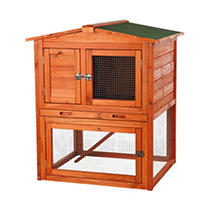 TRIXIE Rabbit Hutch with Peaked Roof - Small