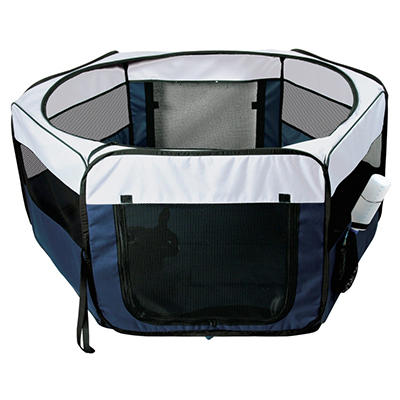 Soft Sided Mobile Play Pen - Small