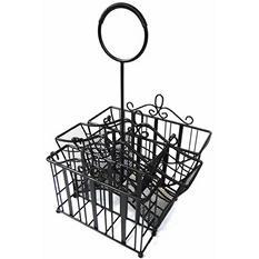 Portable Wrought Iron Picnic Caddy - $2.97 Shipping