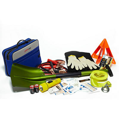 Justin Case Winterizer Auto Safety Kit with Aluminum Shovel