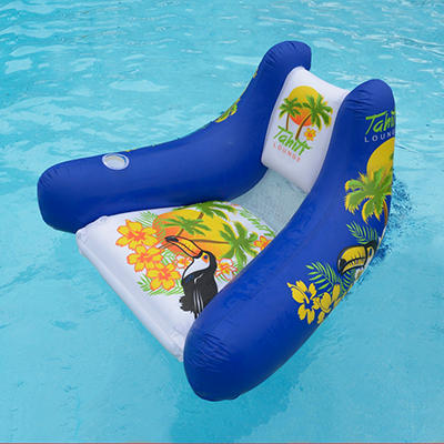 Tropical Tahiti Floating Lounge - Blue
