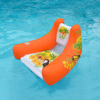 Tropical Tahiti Floating Lounge - Orange
