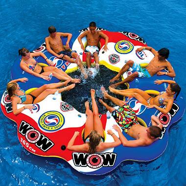 WOW Tube-A-Rama Water Sport Island