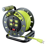 Masterplug Extension Cord Reel 50-ft with Wall Mount Deals