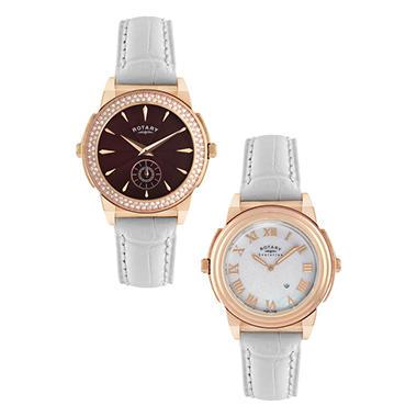 Rotary Ladies' TZ2 Crystal Evolution Watch