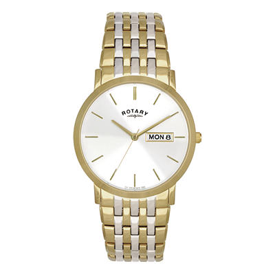 Rotary Gents Two-Tone Quartz Dress Watch