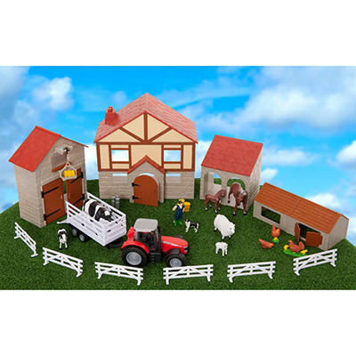 30 Piece Big Farm Playset
