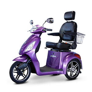 Ewheels EW-36 3-Wheel Mobility Scooter with Accessories (Choose Your Color)