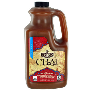 Decaf Chai Red Tea Latte - 64 oz. bottle