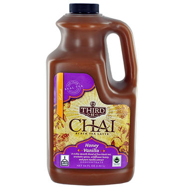 Honey Vanilla Chai Tea Latte - 64 oz. bottle