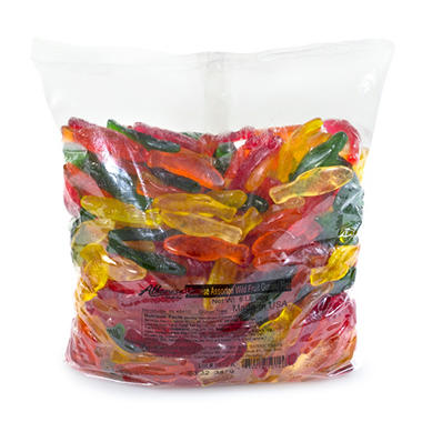 Assorted Fish Gummies (5 lbs.)