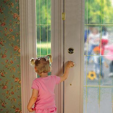 Cardinal Gates Door Guardian - Antique Brass