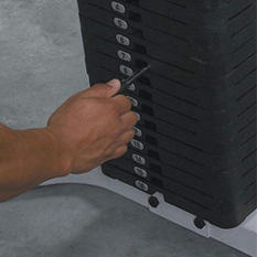 Body Solid SP150 Optional 150 lb. Weight Stack