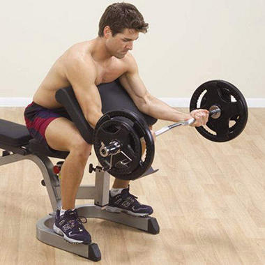 Body Solid GPCA1 Preacher Curl Station