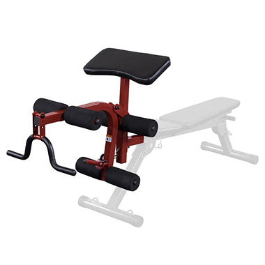 Best Fitness BFPL10 Leg Developer/Preacher Curl Attachment